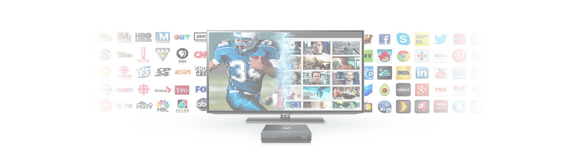 Налаштування цифрового ТВ під будь-якого провайдера.